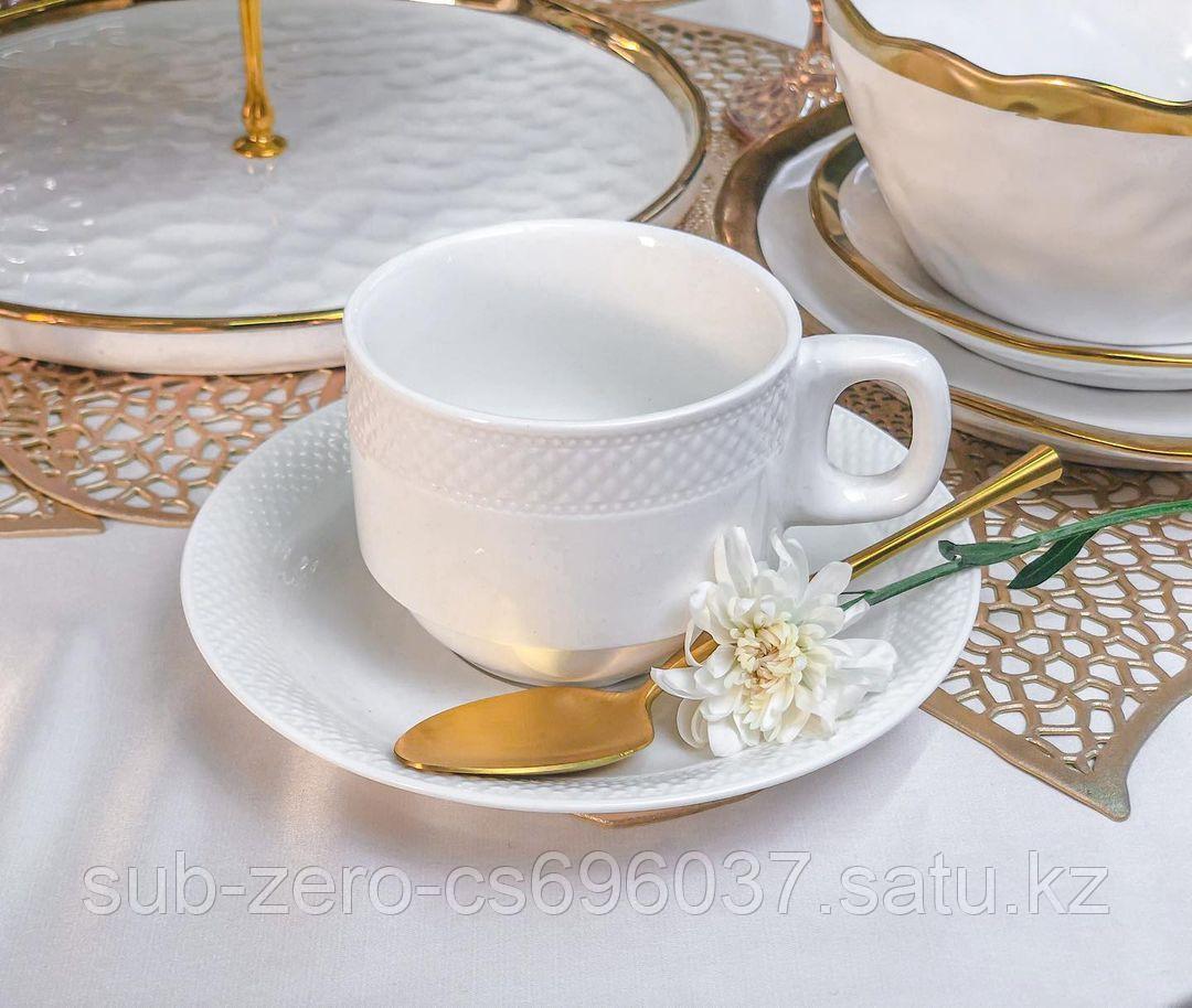 Чайная пара «Белый»