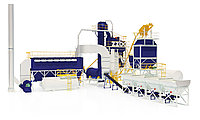 В городе Фергана (Узбекистан) завершились пуско-наладочные работы асфальтового завода БМЗ-80!