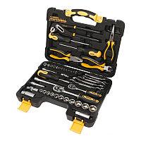 Набор инструментов 65пр. 1/4''3/8''(6гр.)(4-24мм) WMC TOOLS 3065 65 предмета