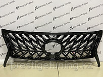 Решетка радиатора на Lexus LX570 2012-15 год стиль Superior с черной окантовкой