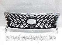 Решетка радиатора на Lexus LX570 2012-15 год стиль Superior с хром окантовкой