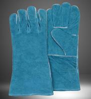 "Gloves cow split, leather argon gloves 14"" (LC2013A) / Перчатки cварочные аргоновые перчатки 14"""