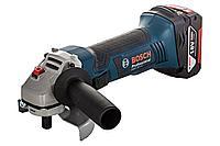 Grinder cordless 115mm GWS 18 V-LI, Bosch / Аккумуляторная шлифмашина 115мм GWS 18 V-LI