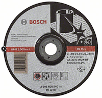 Grinding disc INOX 180x6mm, Bosch / Обдирочный круг Inox 180х6мм