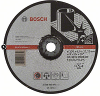 Grinding disc INOX 230x6mm, Bosch / Обдирочный круг Inox 230х6мм