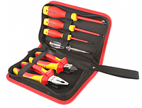Insulated hand tools set 6pcs V83306 Tolsen / Набор изолированных ручных инструментов из 6шт V83306