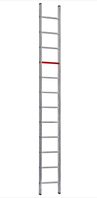 Ladder, single part aluminium 14 rungs T0040, 4m / Алюминиевая лестница 14 ступеней, T0040, 4 м