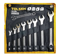 8 pcs combination spsnners set, 15159 / Комплект комбинированных гаечных ключей 8 шт 15159