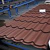 Металлочерепица МП Ламонтерра Х Матовая 8017 Шоколад