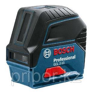 Комбинированный лазерный профессиональный нивелир Bosch GCL 2-15. Внесен в реестр СИ РК