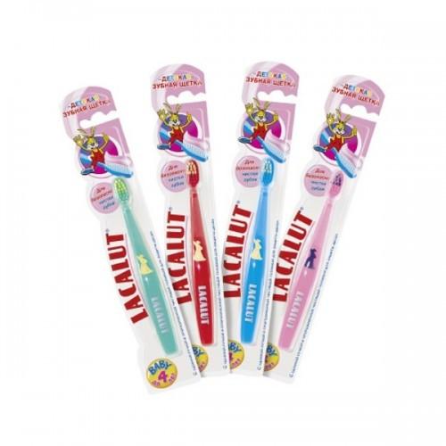 Лакалут зубная щетка  детск до 4 лет