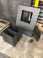 Формы бетонных блоков