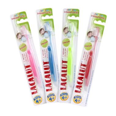 Лакалут зубная щетка  детск 4+