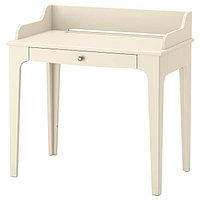 Стол писменный ЛОММАРП светло-бежевый 90x54 см ИКЕА, IKEA