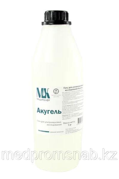 ГЕЛЬ ДЛЯ УЗИ СРЕДНЕЙ ВЯЗКОСТИ АКУГЕЛЬ 1 литр