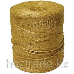 Шпагат джутовый, полированный, 1670текс, d1,5мм, ~900м, 1,5кг, бобина