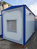 Блок контейнер из сэндвич панели для ДГУ 3000х2000х2000