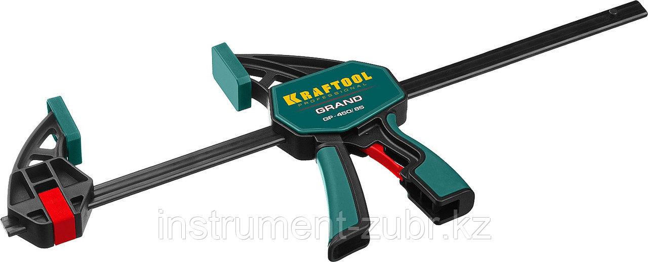 Струбцина пистолетная 450/85 мм, KRAFTOOL GP-450/85