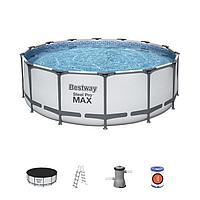 "Каркасный бассейн Bestway 5612X ""Steel Pro Max"" размер 427х122 см, фото 1"