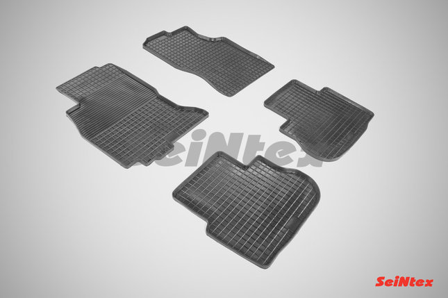 Резиновые коврики для Infiniti FX35 2002-2009, фото 2