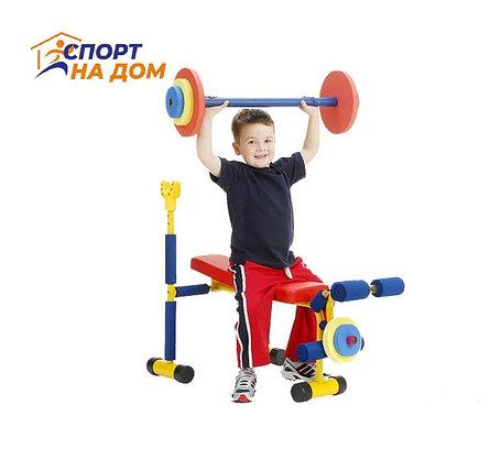 Детский тренажер скамья для жима (2-8 лет), фото 2