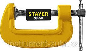 Струбцина тип G 50 мм, STAYER SG-50