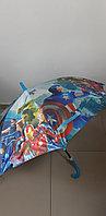 Зонт трость со свистком (Супер герои)