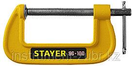 Струбцина тип G 100 мм, STAYER SG-100