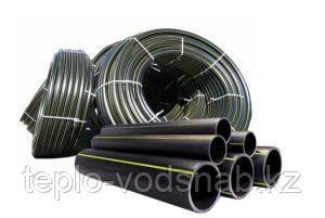 """Трубы полиэтиленовые для воды Ду125"""" т.с 7,4 """"SDR17 ATM10"""""""