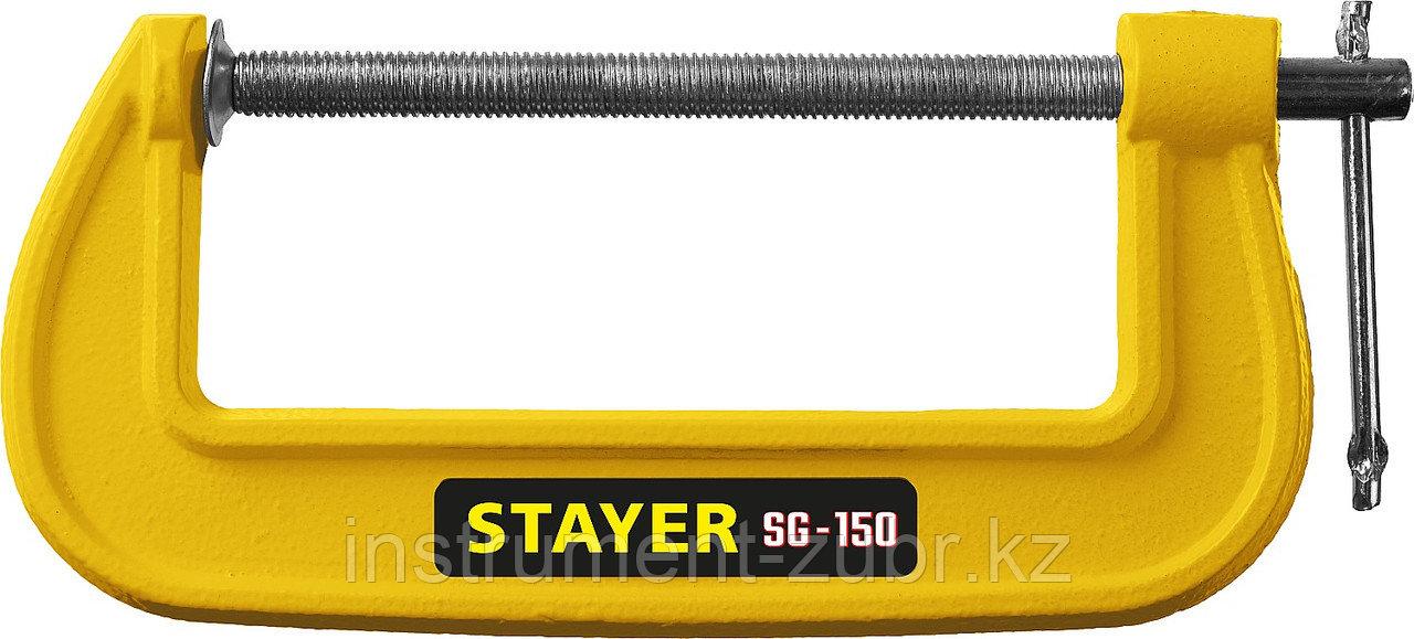 Струбцина тип G 150 мм, STAYER SG-150
