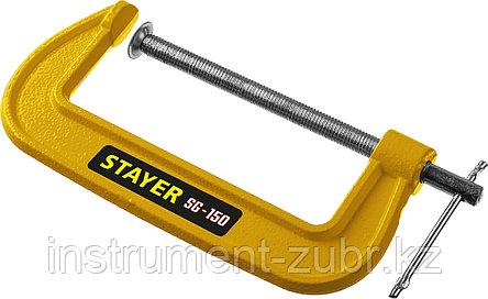 Струбцина тип G 150 мм, STAYER SG-150, фото 2