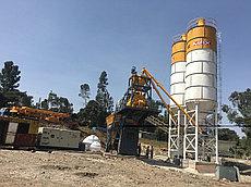 Мобильная бетоносмесительная установка Truemax CBP 60M