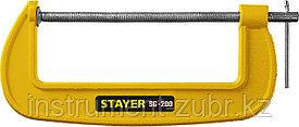 Струбцина тип G 200 мм, STAYER SG-200