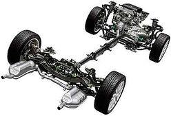 Ходоваяя часть,трансмиссия и рулевое управление