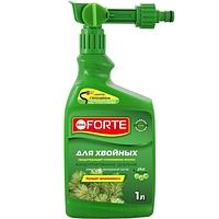 Bona Forte Эжектор жидкое комплексное удобрение для хвойных, 1л