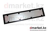Рамка для номера, металлическая, черная, антивандальная, фото 1