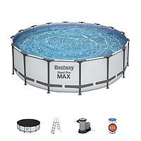 "Каркасный бассейн Bestway 5612z ""Steel Pro Max"" размер 488х122 см, фото 1"