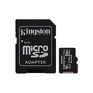 Карта памяти Kingston SDCS2/64GB Class 10 64GB, с адаптером, фото 2