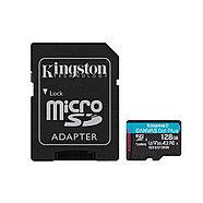 Карта памяти Kingston SDCG3/128GB A2 U3 V30 128GB + адаптер, фото 2