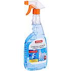 Средство для мытья стекол и зеркал OfficeClean Professional, с нашатырным спиртом, 750мл, с курком, фото 3