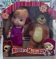Набор игрушек героев Маша и Медведь