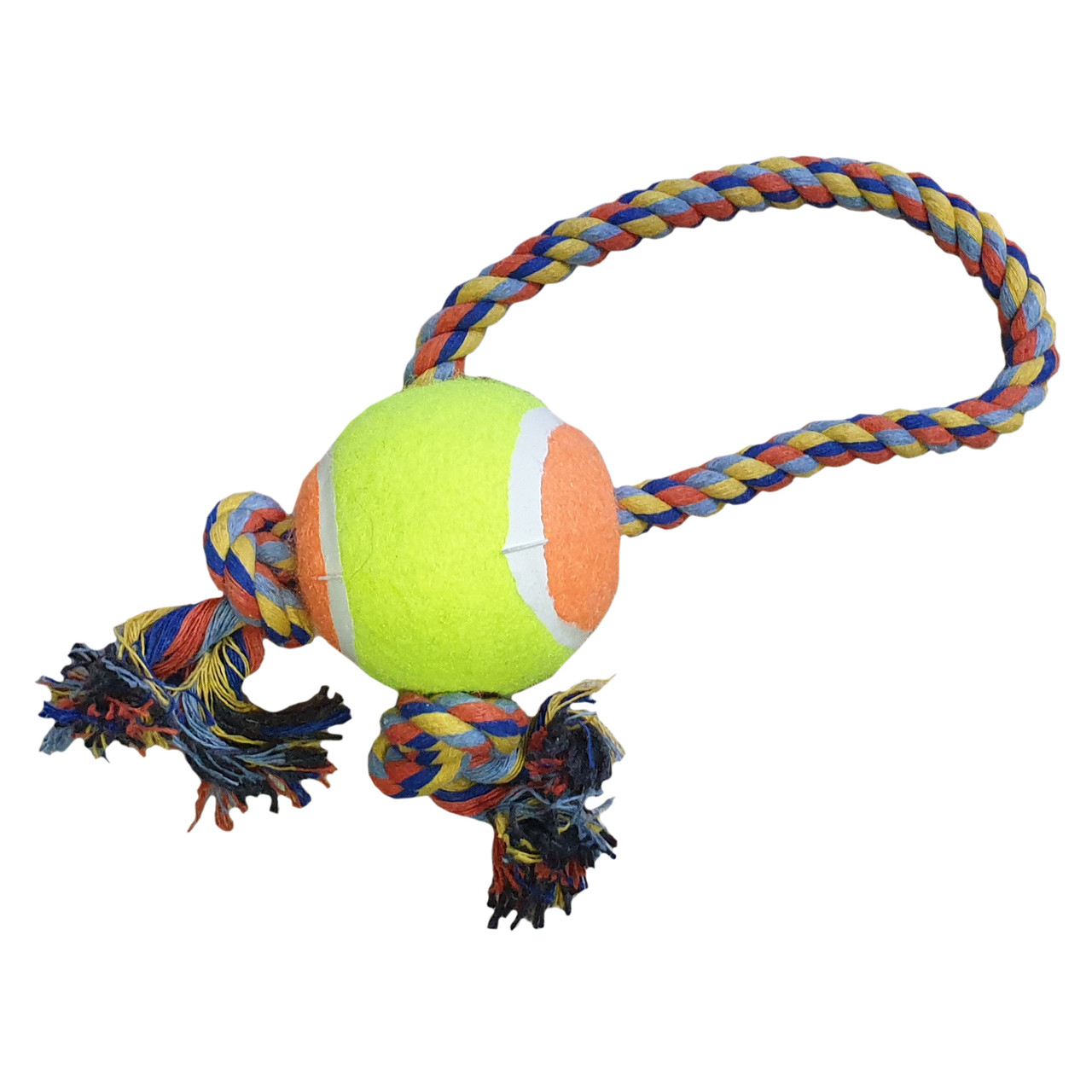 Игрушка для собак Мяч с регулируемым канатом