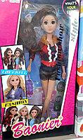 Барби с длинными ресницами