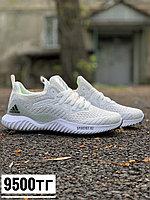 Кросс Adidas Alphabounce бел, фото 1