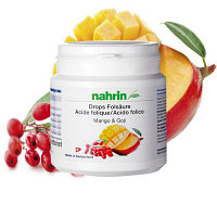 Фолиевая Кислота Манго и Годжи Нарин / Nahrin Folic Acid Mango & Goji, 90 гр, 60шт. Нур-Султан