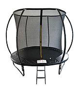 Батут Mzone10ft диаметром 3,05метра с защитной сетью и лестницей