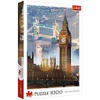 """Пазл 1000 эл. Trefl """"Лондон на рассвете - коллаж"""""""