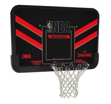 """Баскетбольный щит Spalding 44"""" NBA Highlight 80798CN композит"""