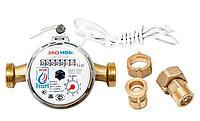 Счетчик воды универсальный ЭКО НОМ-15-110И+КМЧ-15-ОК