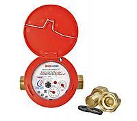 Счетчик воды универсальный ЭКО НОМ-15-110+КМЧ с обратным клапаном, класс «С»